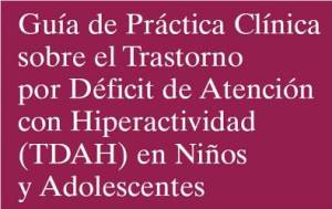 Portada GPC TDAH