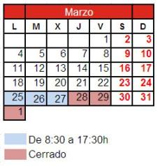 2013_Horario_semana_santa